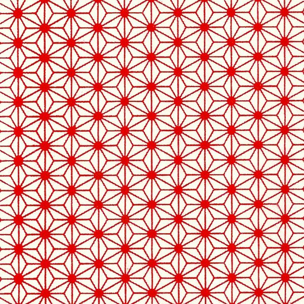 Papier japonais / Sérigraphie feuille de chanvre étoilée fond rouge - Adeline…