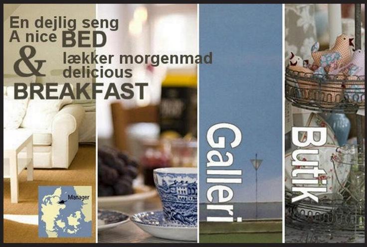 B og B i Mariager bys gamle centrum, galleri, kunsthåndværk, butik, ferielejligheder m.m. Holiday house center of Mariager, North Jutland Denmark also Bed and Breakfast