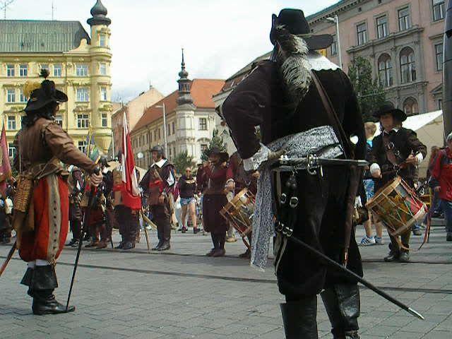 Празднование «Дня города Брно»