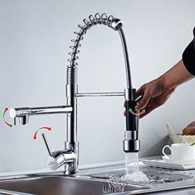 27 best Küche Wasserhahn images on Pinterest Sprays, Kitchen and - wasserhahn küche weiß