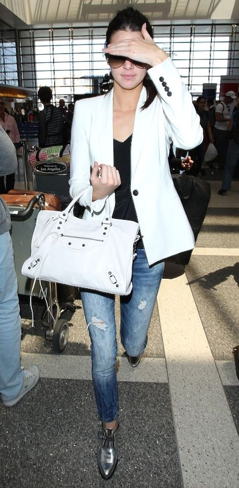 Airport chic {Kendall Jenner}