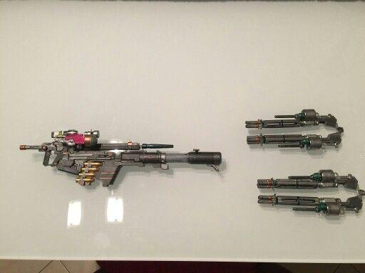 Sinanju weapon custom
