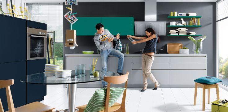 Matt-Kitchen-Ideas. Schuller German Kitchens - Nova.