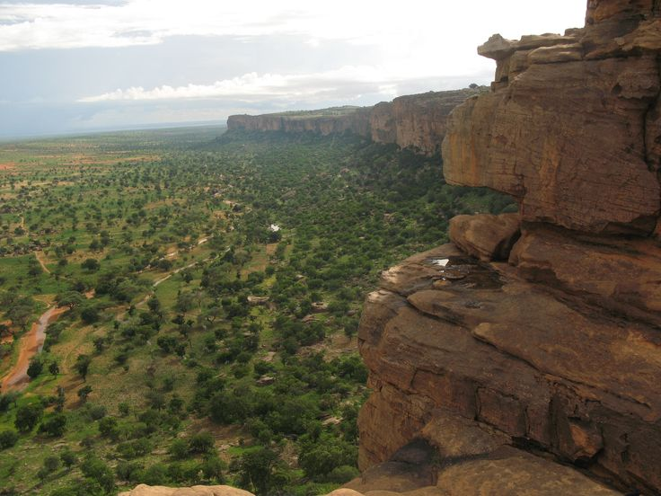 The Bandiagara Escarpment is an escarpment in the Dogon country of Mali.
