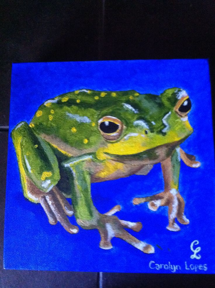 Frog #3 by Carolyn Lopes