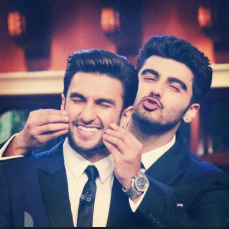 Arjun Kapoor and Ranveer Singh : )