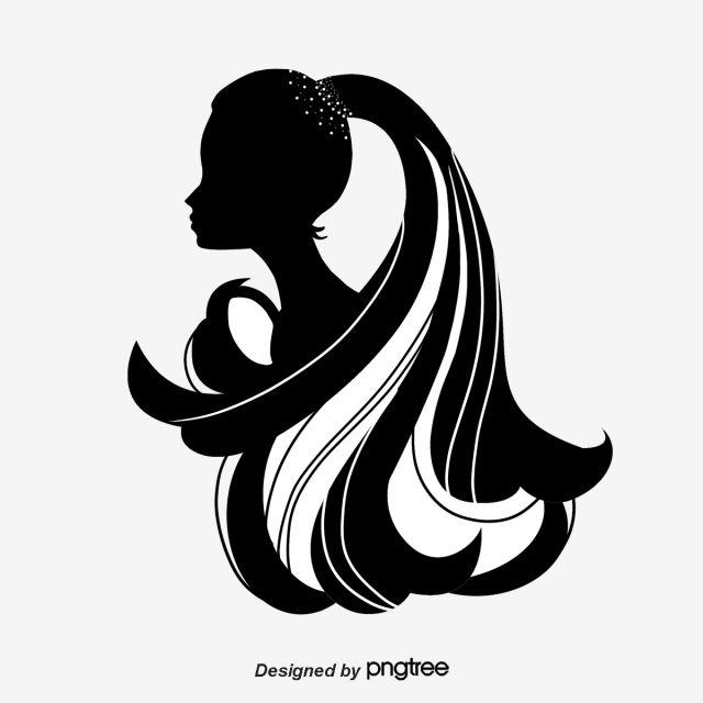 أسود أنثى الخيال بابوا نيو غينيا و Psd Woman Silhouette Silhouette Art
