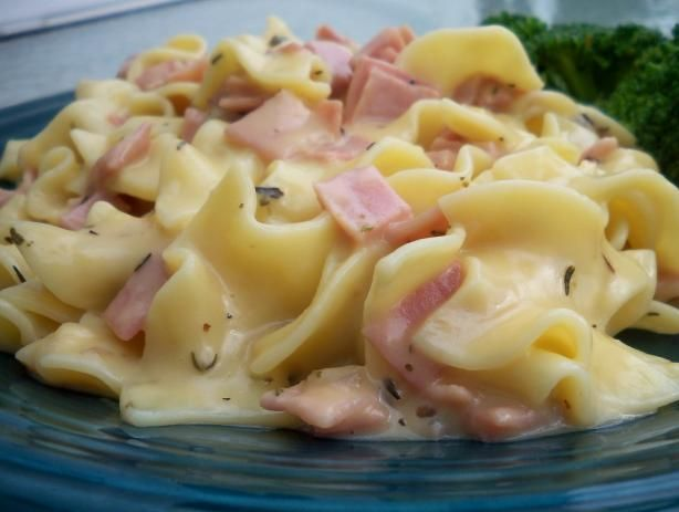 Ham & Noodle Stove Top Casserole, Pennsylvania Dutch Style