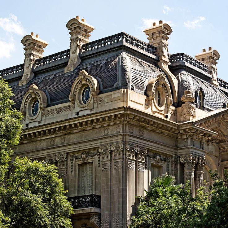 Palacio San Martín de la Cancillería. Anteriormente, perteneció a la familia Anchorena.