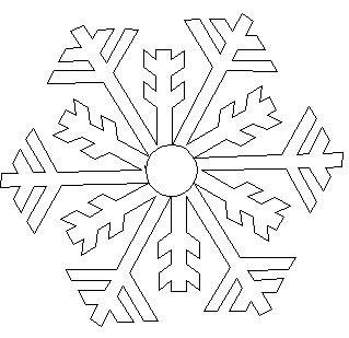 Shop   Category: Christmas / Winter   Product: Jessicas snowflake 5