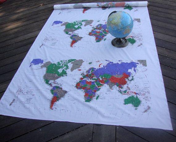 Worksheet. Best 25 Map fabric ideas on Pinterest  Printable maps Travel