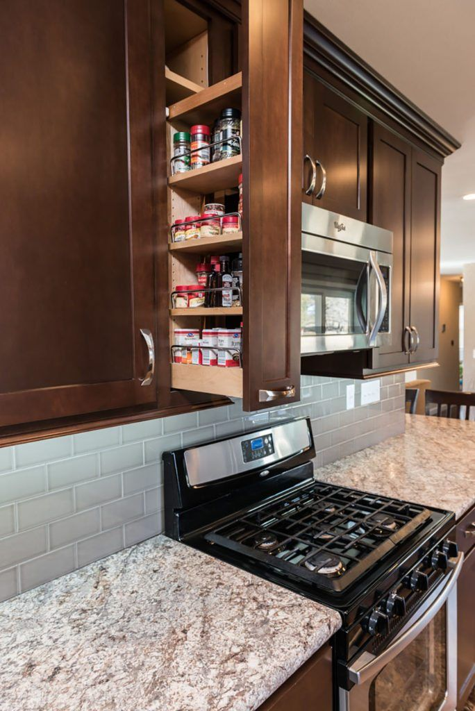 Spice Kitchen Separate From The Other Kitchen In The House To Isolate The Rest Of Th Kitchen Interior Contemporary Kitchen Interior Interior Design Kitchen
