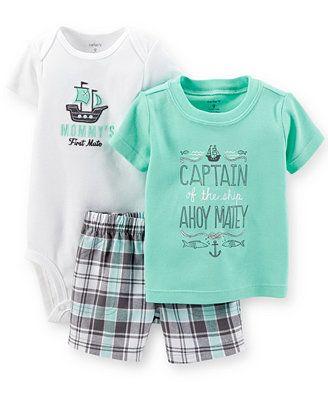 Carter's Baby Boys' 3-Piece Nautical Set