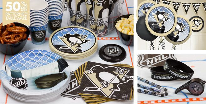 Pittsburgh Penguins Party Supplies, Favors & Decorations - Party City