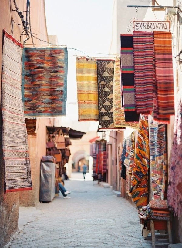 Oh So Lovely Vintage: Dreamy destinations. Morocco