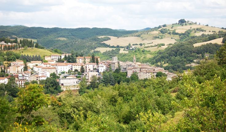 Pietralunga, Tuscany - Most romantic small cities in Italy - Located in the Province of Perugia, it is a small medieval town that dates back to 1000 A.D. Visit the many ancient Roman ruins!