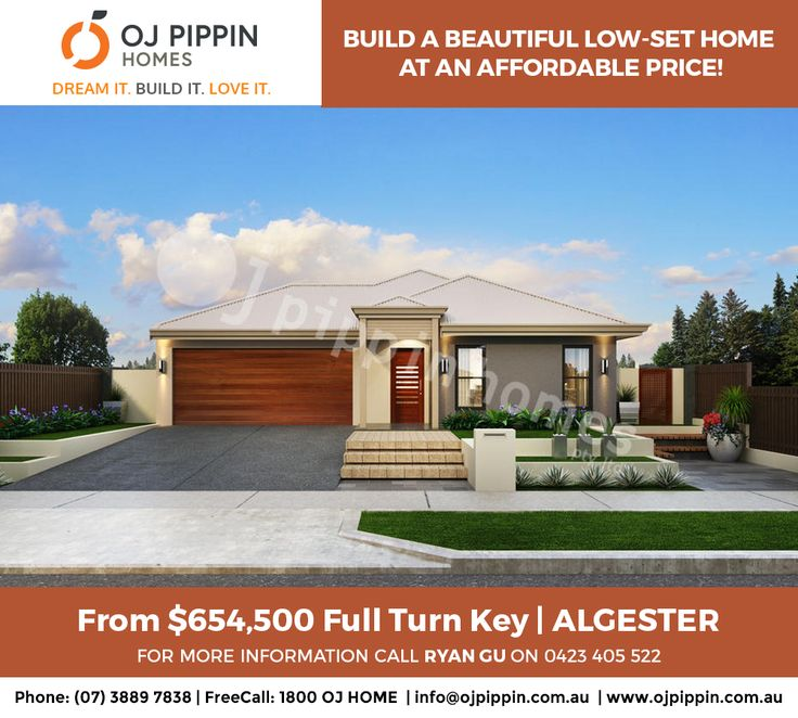 HOUSE OF THE WEEK #hotw BUILD A BEAUTIFUL LOW-SET HOME AT AN AFFORDABLE PRICE! Algester