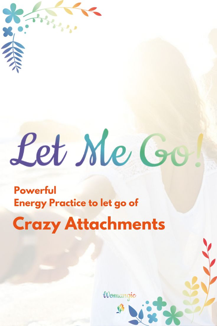 Have you been in a situation when you'are obsessed with someone or the past situation and you can't get over it? It takes away your energy and your joy, you can't think about anything else. If so this energy practice can be perfect you, try it to let go of attachments that bother you. It works.
