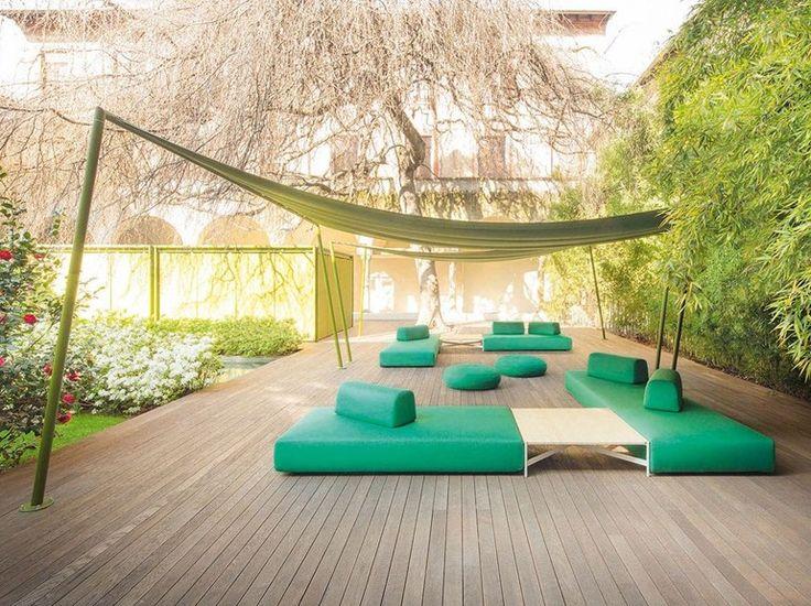 Garden sofa with removable cover ORLANDO | Garden sofa - Paola Lenti