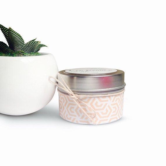 Asian Sandalwood Candle 4 oz Soy Candle Tin-Travel by LTCCandle