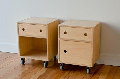 Hoop Pine Plywood bedside table | Furniture | Make Furniture