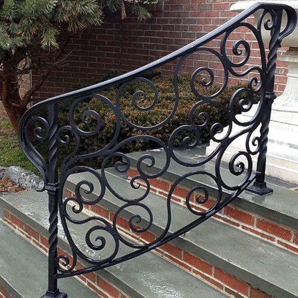 Pretty Outdoor Rod Iron Stair Railing That Will Blow Your Mind