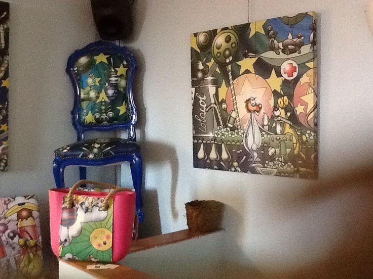 Mostra di Simone Lucchesi a Casté . Castestyle@gmail.com