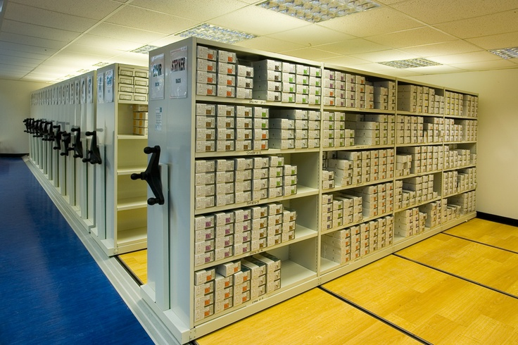 Flexistor is a flexible office storage system that can be used to store a wide range of items in both office and warehouse locations. http://www.compactstorage.co.uk/mobile-shelving/flexstor/