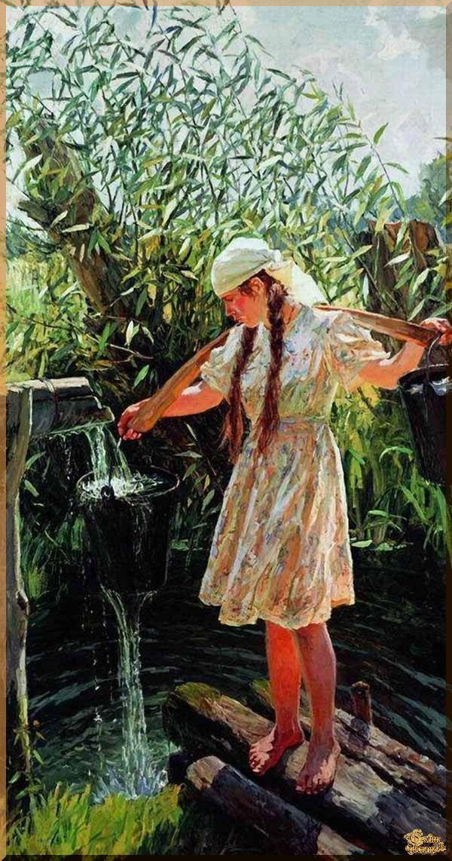 Plastov- 13 Репродукция, картины, сувенир, подарки