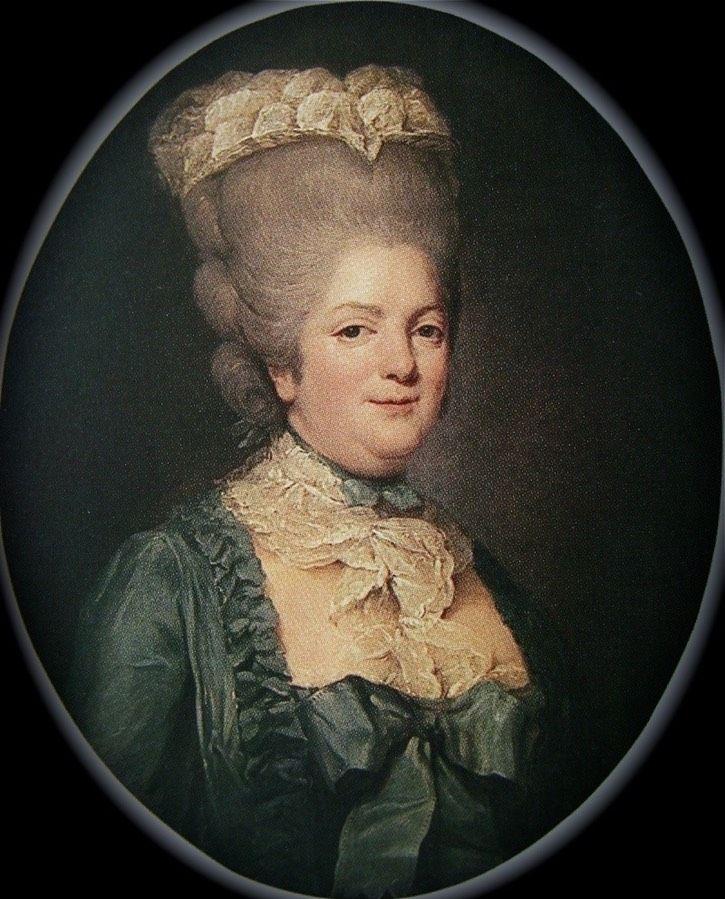 Portrait de Mme Victoire, vers 1779 Joseph Ducreux