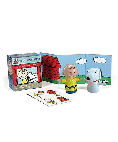 Loving this Peanuts Finger Puppet Theater on #zulily! #zulilyfinds
