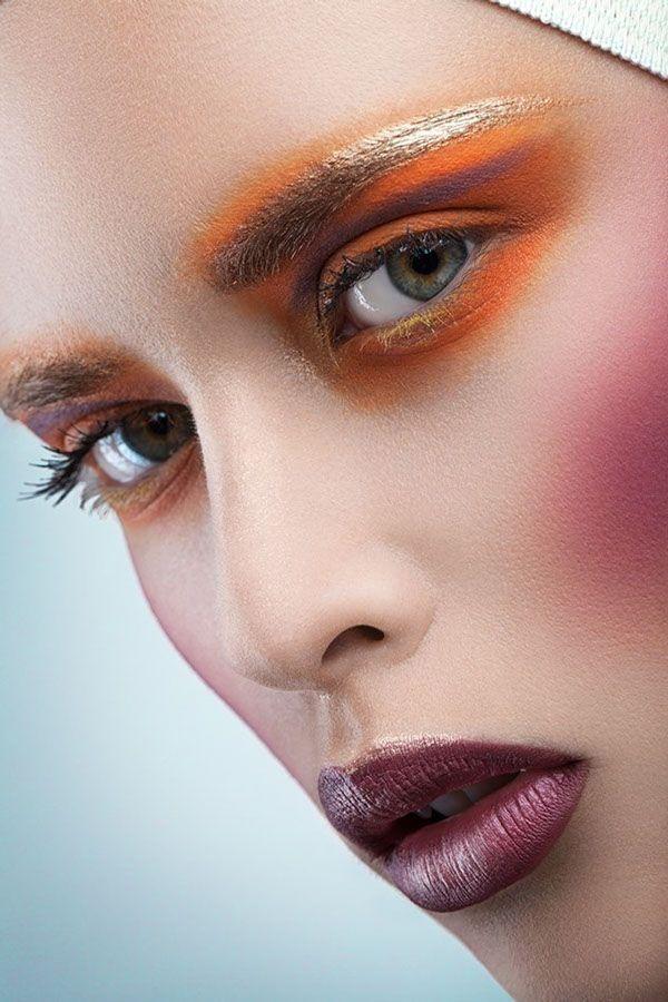 Madness of Beauty  Makeup: Kristabel Taivas Photographer: Alex Buts Model: Nastia StarSystem #Makeup #Beauty #MakeupArtists