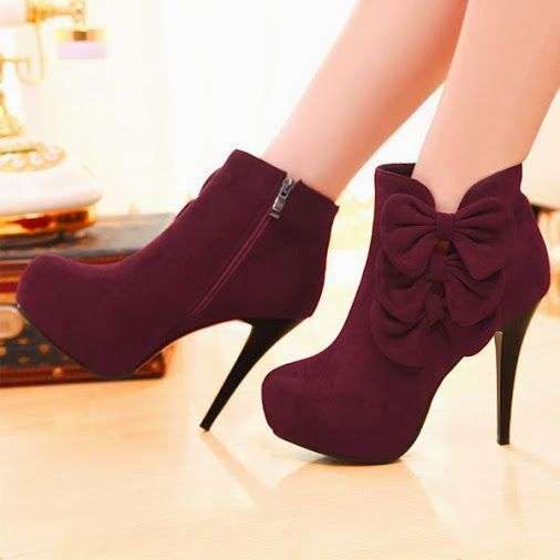 Cute boots. #ankleBoots #shoes #heels #fashion