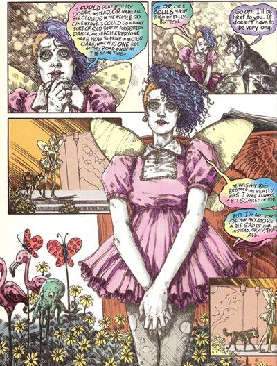 Tags: delirium sandman books comics random · Report Post