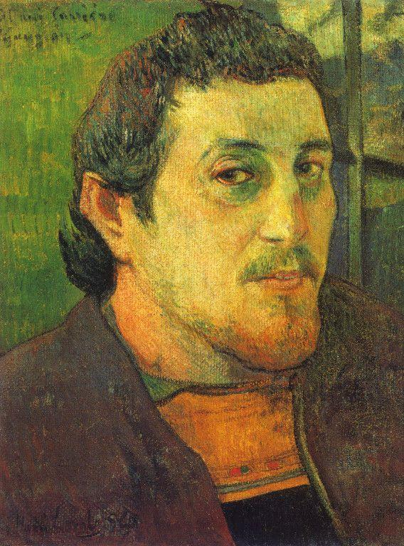 Paul Gauguin - Self Portrait for Carrièrre