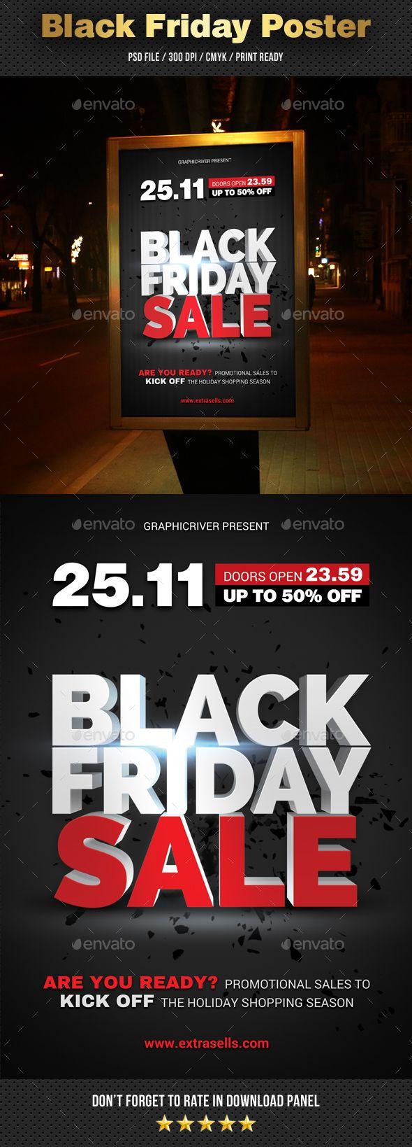 #Black Friday Sale #Poster - #Signage Print Templates