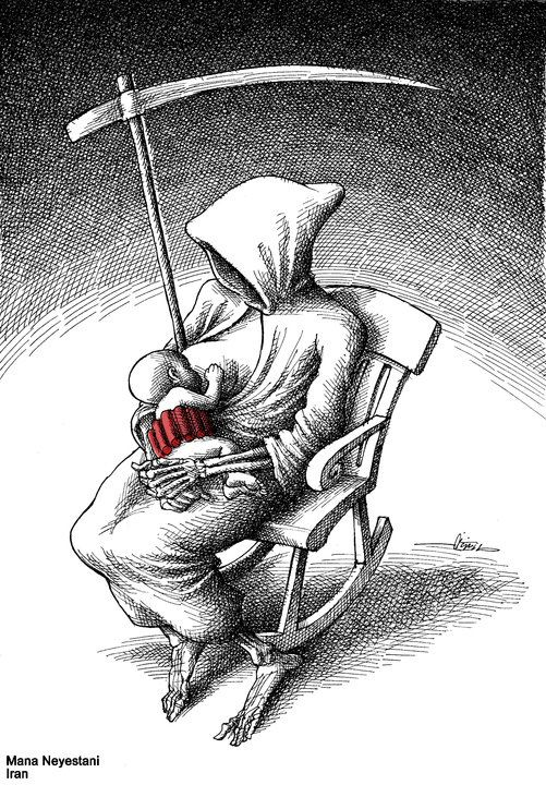 Mana NEYESTANI (Iran) - Best CARTOONS