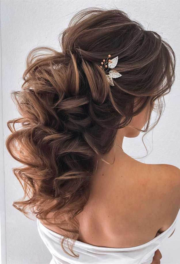 Beautiful Braids Half Up Half Down Hairstyles Looking For Effortless Chic Hairstyle Half Up Half Down Hairsty Frisur Hochzeit Brautfrisur Hochzeitsfrisuren