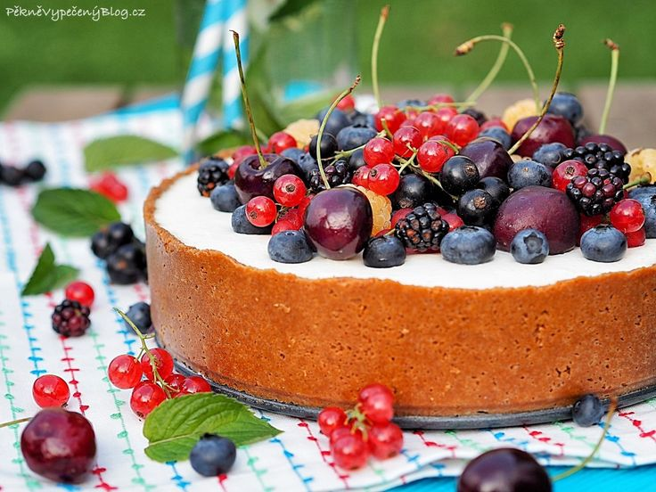 Letní cheesecake (summer cheesecake)