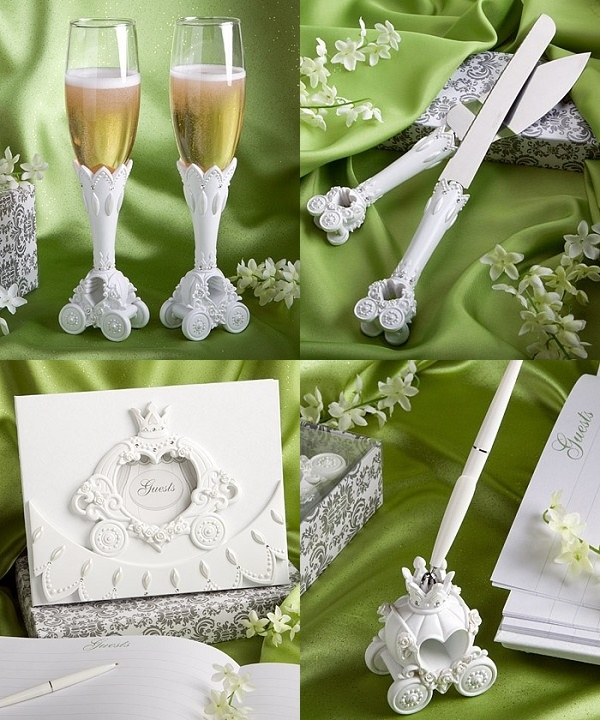 new fairytale themed accessory sets matching place card holder available