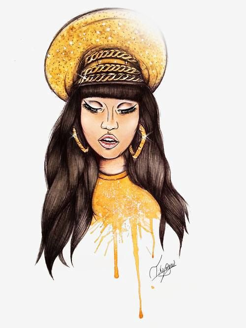 Nicki Minaj Tumblr Pics: dope art