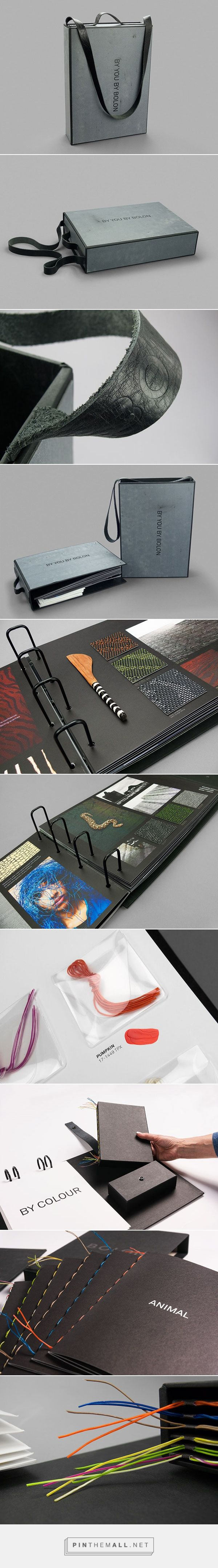By You By Bolon swatch and sample book | Packaging on Behance