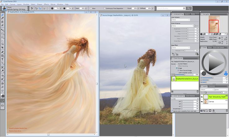 Corel Painter Updated for Natural Media Painting
