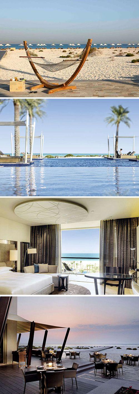 Park Hyatt Abu Dhabi is een luxe resort in Arabische stijl. Het ligt enkele kms van Abu Dhabi en is een ideale plek om tot rust te komen. Je zit middenin de natuur en binnen no time op het strand. Twijfel niet langer en boek die reis nu!