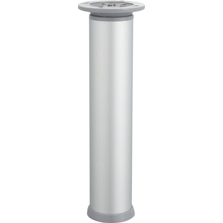 http://www.leroymerlin.fr/v3/p/produits/pied-de-meuble-cylindrique-reglable-en-acier-mat-gris-20cmx30mm-e160861 jusqu'à 23 cm