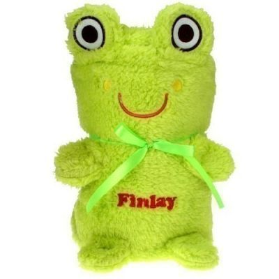 Soft Cuddly Frog Baby Blanket. £21.99 #Frog #Froggy #BabyBlanket #PersonalisedBabyBlanket #PersonalisedBabyGifts #PersonalisedGifts