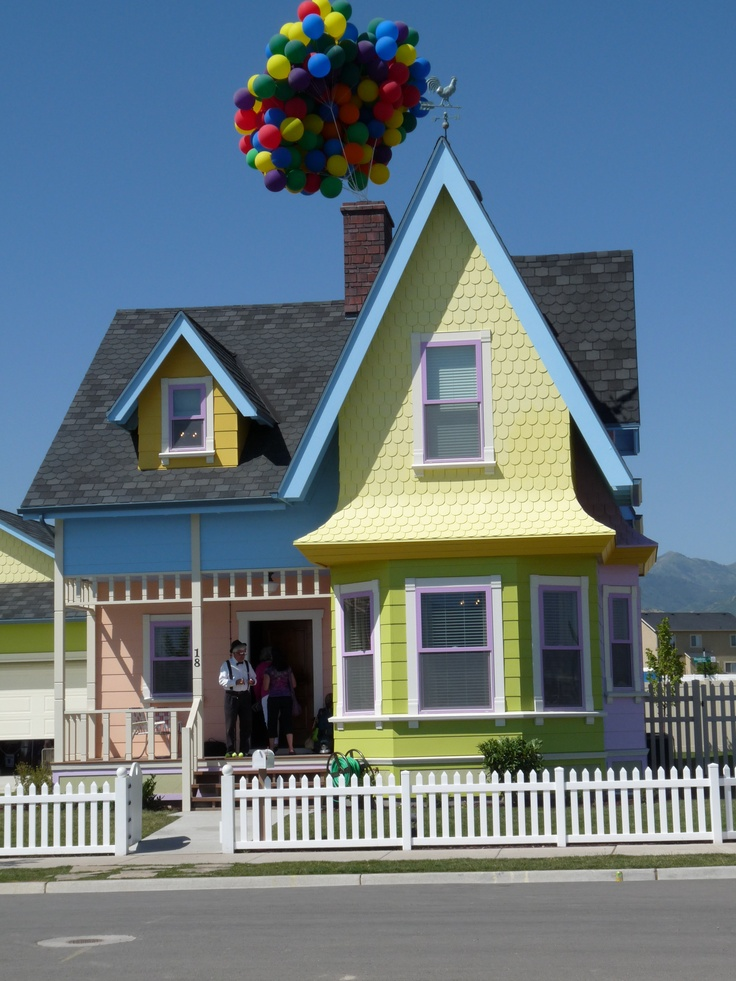 The Up House In Herriman Utah Was Built To Resemble The