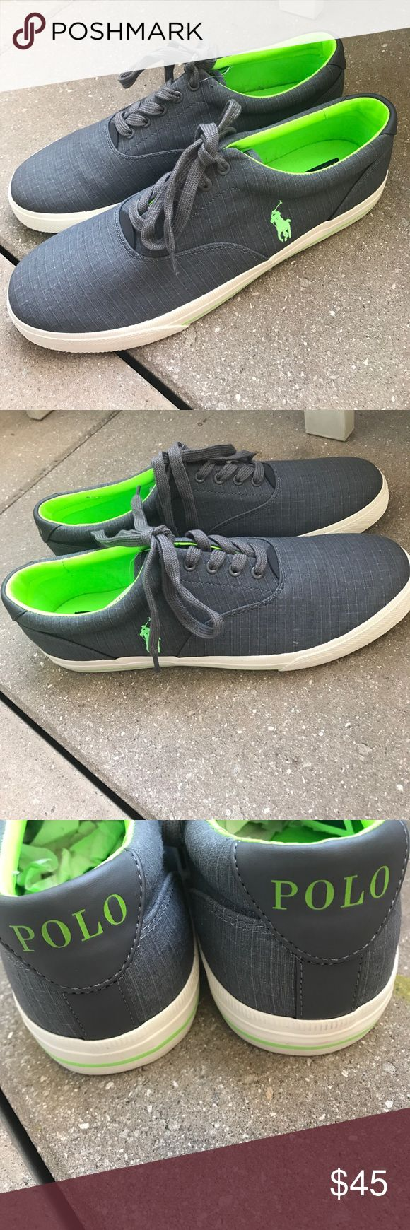 Polo Ralph Lauren men's sneakers Sz 14 Brand new pair of sneakers missing box Polo by Ralph Lauren Shoes Sneakers