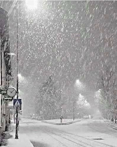 Ayyyy cok ozledim kari...  missed seeing snow ❄️