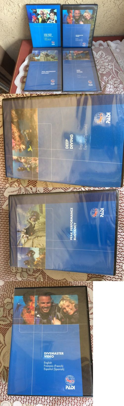 Books and Video 73993: Padi Set 4 Dvds Divemaster Open Water Diver Buoyancy Deep Diving -> BUY IT NOW ONLY: $79.95 on eBay!